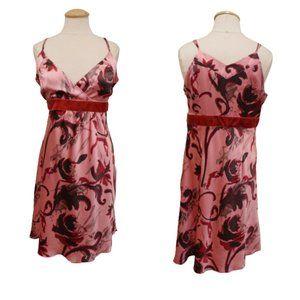 Kenzie Dresses Silk Floral Strappy Dress- Sz. 12